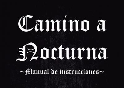 Manual d'instruccions del joc de taula 'Camino a Nocturna'