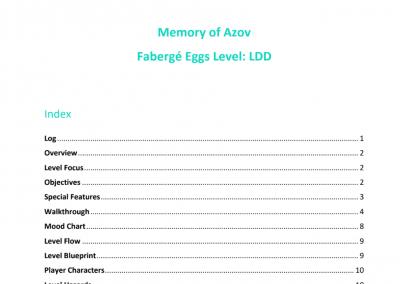 LDD de 'Memory of Azov'