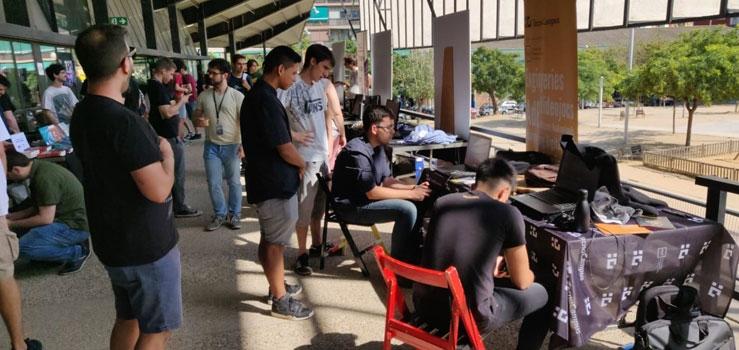 Estudiants del Grau de Videojocs participen a l'Indie Dev Day