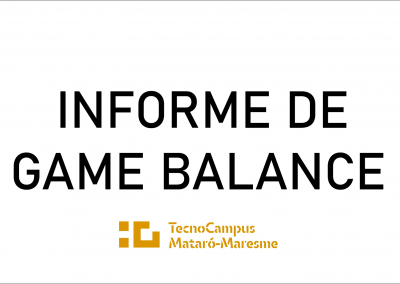 Informe de Game Balance: Worms